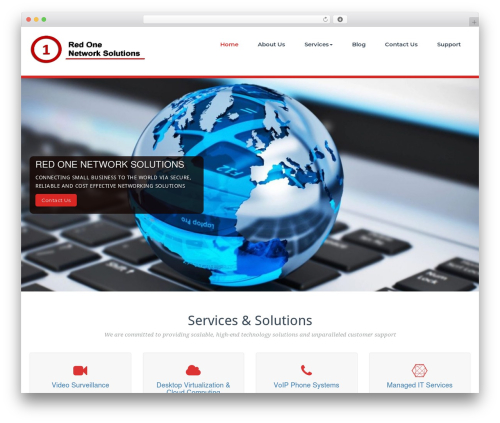 Theme WordPress BusiProf Pro - red1ns.com