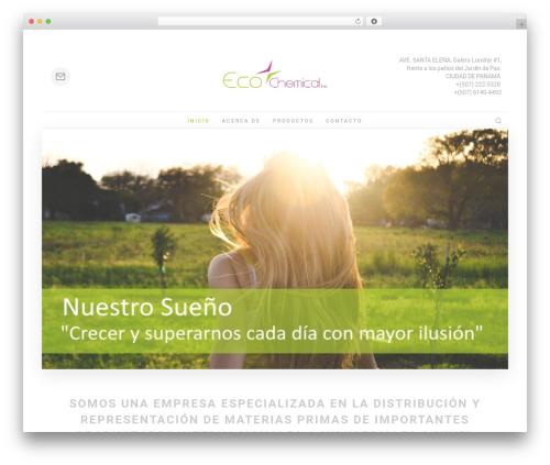Theme WordPress Folie - eco-chemical.net
