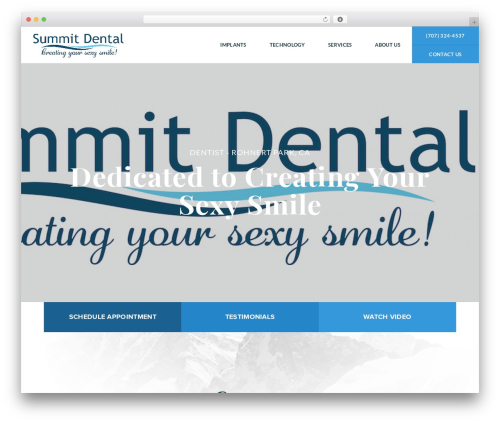 Best WordPress template Shaggy Rogers - summitdentaloffice.com