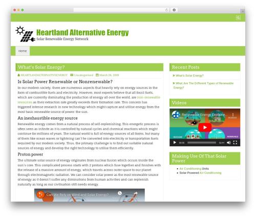 Di Business company WordPress theme - heartlandalternativeenergy.com