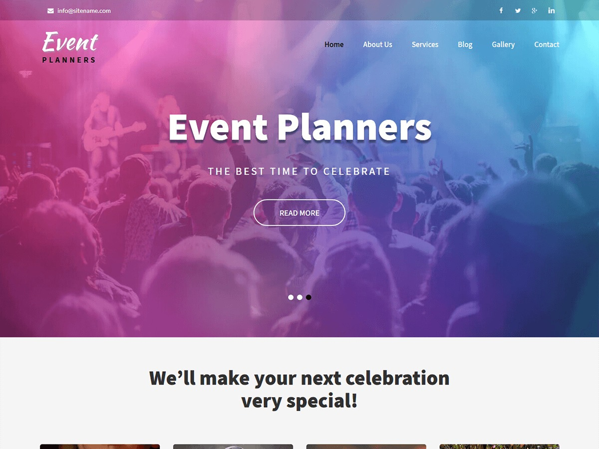 Event Planners best WooCommerce theme