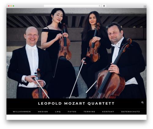 Fotografie free WordPress theme - leopold-mozart-quartett.com