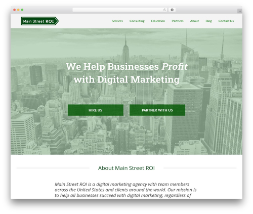 Free WordPress Sticky Menu (or Anything!) on Scroll plugin - mainstreetroi.com