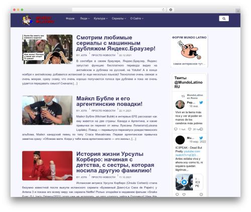 BasePress WordPress theme download - mundolatino.ru