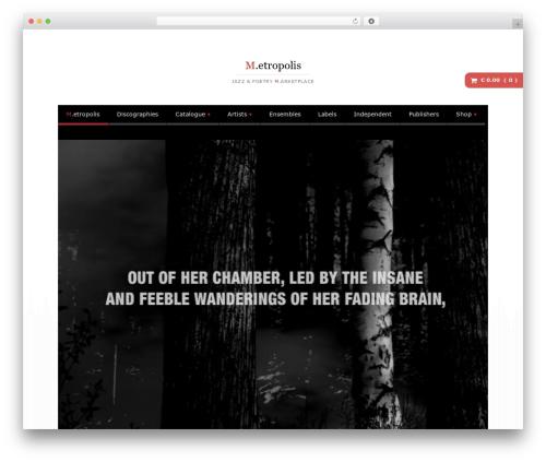 Free WordPress Royal Scroll to Top plugin - m-etropolis.com