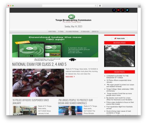 NewsPress Extend best WordPress magazine theme - tonga-broadcasting.net