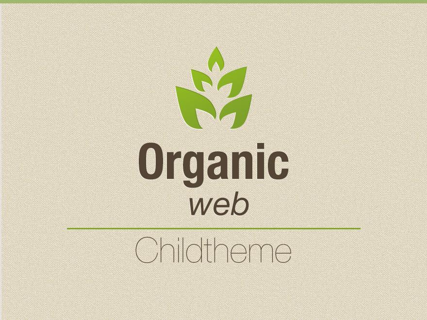 Organic Web Child theme WordPress