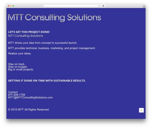 Output | Responsive Multi-Purpose WP Theme premium WordPress theme - mttconsultingsolutions.com