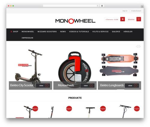 Perfectum best WordPress template - monowheel.info