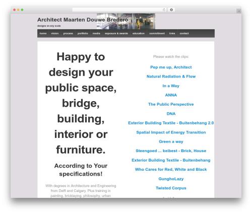 Responsive WordPress template free download - maartendouwebredero.com