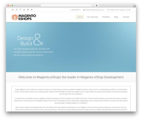 Sandy WordPress store theme - magentoeshops.co.uk