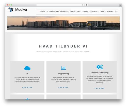SG Double premium WordPress theme - mediva.dk