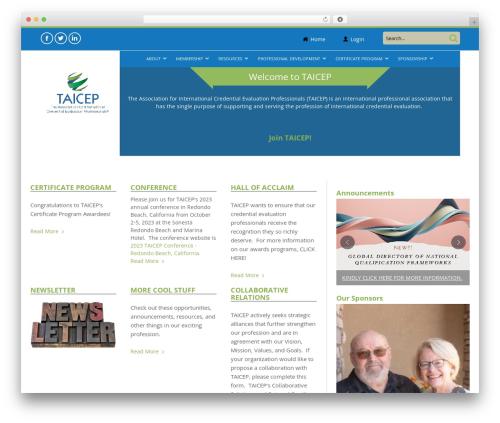 SmartMag (Share On Theme123.Net) WordPress theme - taicep.org