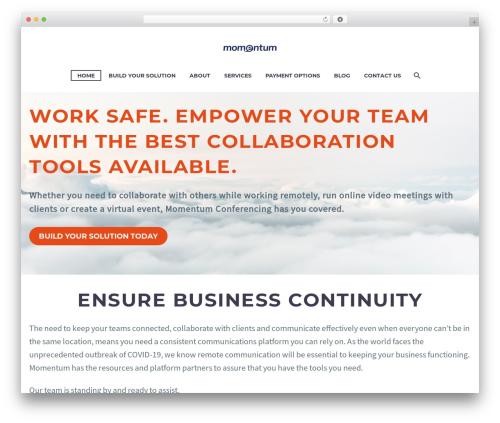 Theme WordPress TheGem - momentumconferencing.com
