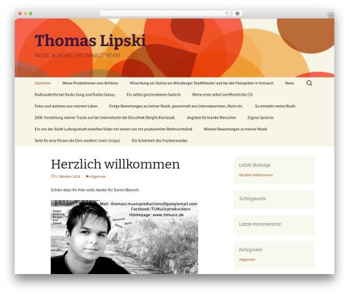Free WordPress WordPress Picture / Portfolio / Media Gallery plugin - tlmusic.de
