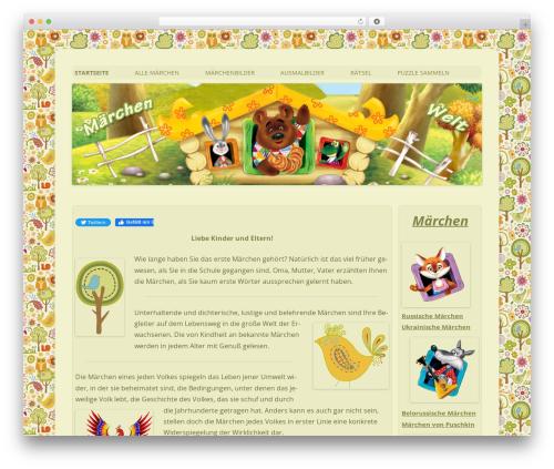 Twenty Twelve WordPress template free download - maerchen-welt.net