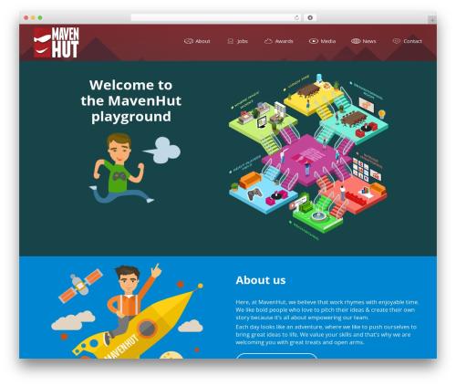 WordPress template Avada - mavenhut.com