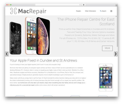 WordPress theme Satellite7 - macrepairdundee.co.uk