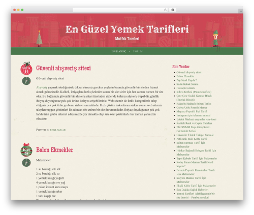 WP template Cheer - mutfaktazeleri.com