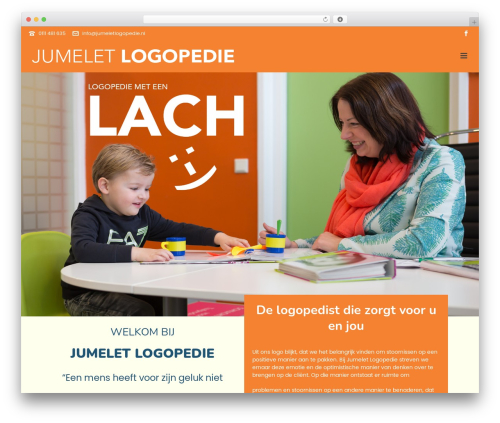 Jupiter WP theme - jumeletlogopedie.nl