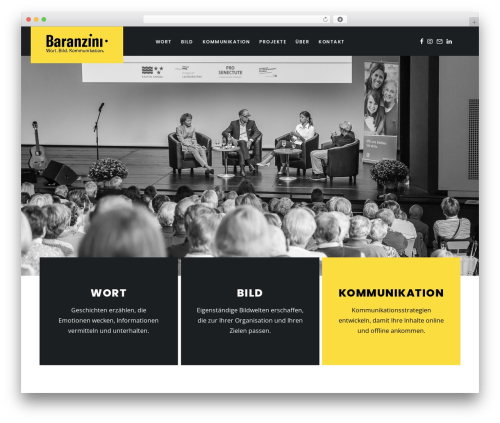 WordPress theme Folie - baranzini.ch