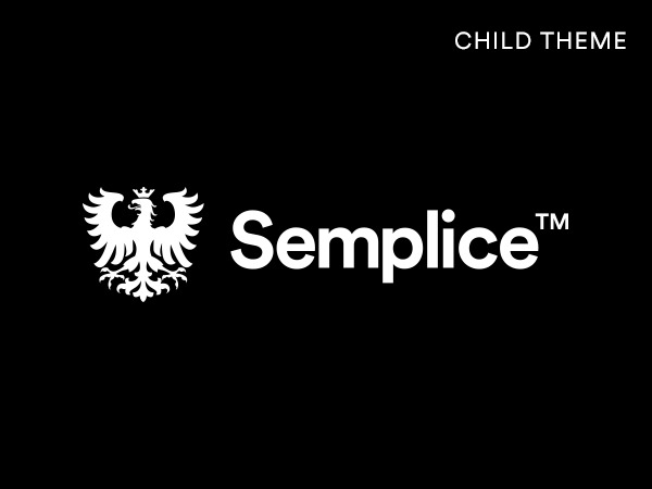 WordPress theme Semplice Child
