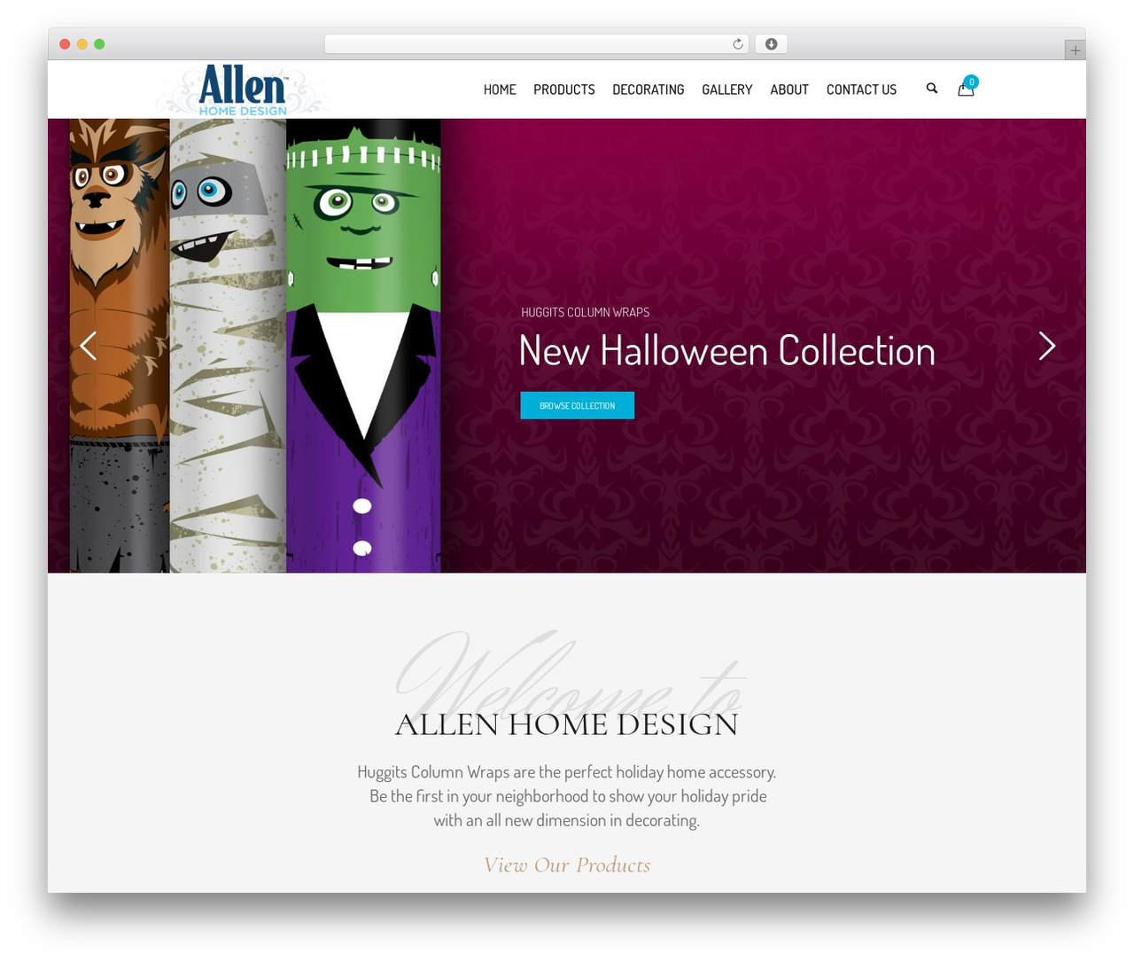 WP theme Hotel LUX - allenhomedesign.com