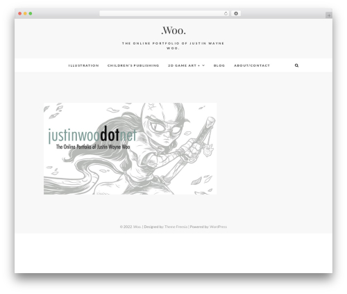 AlterNative personal blog WordPress theme - justinwoo.net