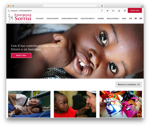 Charity WPL WP template - emergenzasorrisi.it
