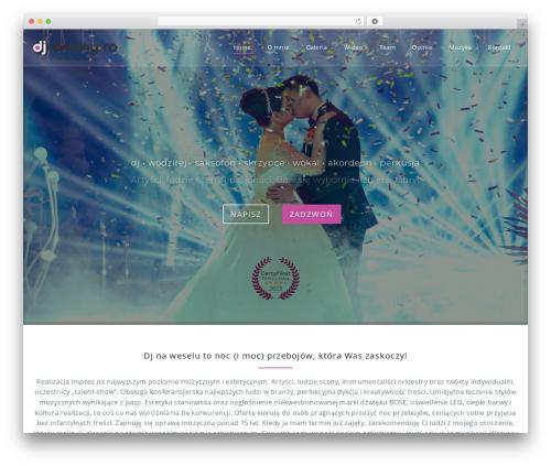 Parallel Pro template WordPress - dannyro.com
