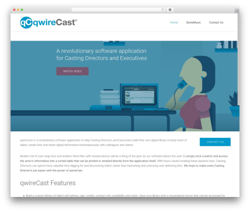 Satellite7 WordPress theme - qwirecast.com
