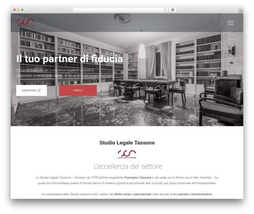 Wizelaw WordPress theme - studiolegaletassone.com