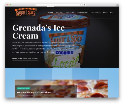 WordPress theme Primer - sugarandspiceinvltd.com