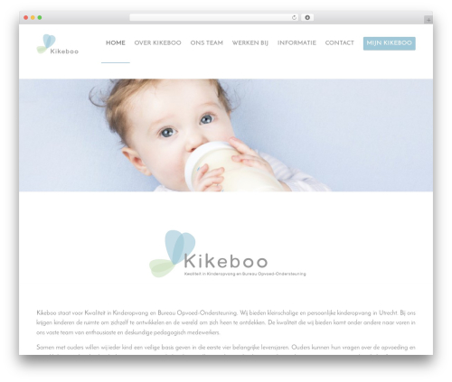 Enfold WordPress theme - kikeboo.nl