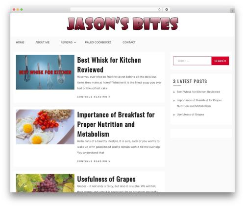 WordPress theme Gist - jasonsbites.com
