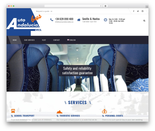 WP theme TM Transport - autoandaluciabus.es