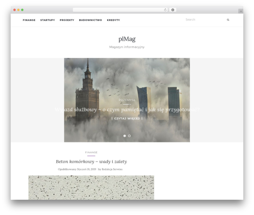 Activello WordPress template free - plmag.pl