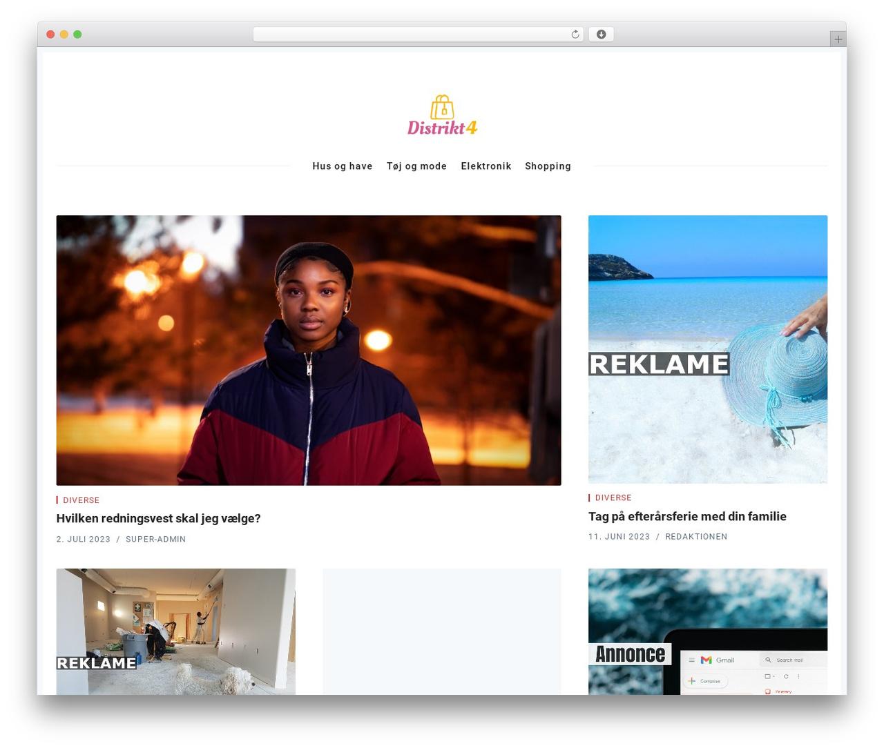 Best WordPress template Nubia - distrikt4.dk