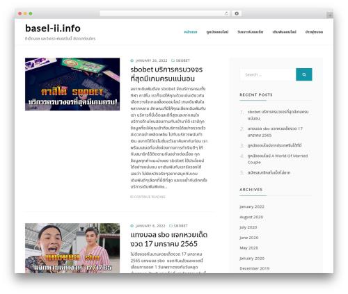Cell WordPress template free - basel-ii.info