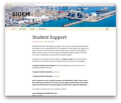 Twenty Thirteen theme free download - bioem2014.org