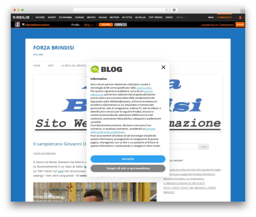 Twenty Twelve WordPress theme free download - forzabrindisi.myblog.it