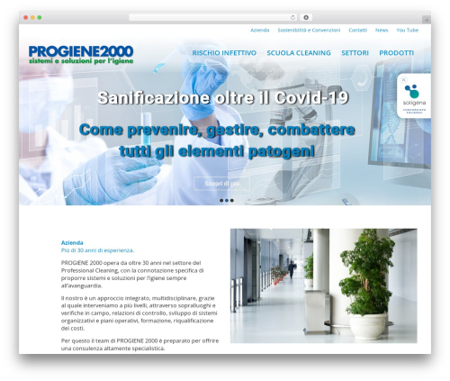 WordPress theme Client Theme - progiene2000.it