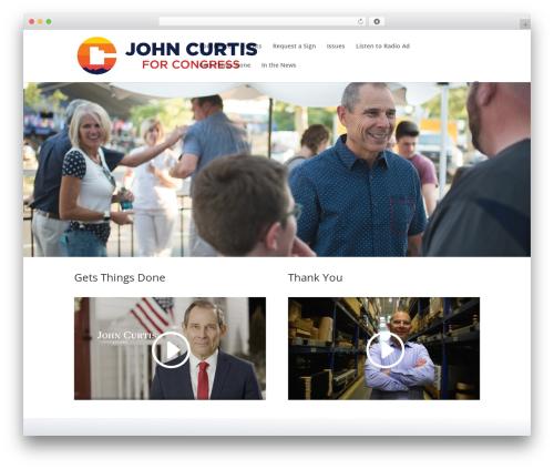Divi WordPress theme - johncurtis.org