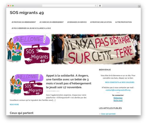 Poseidon best free WordPress theme - sosmigrants49.org