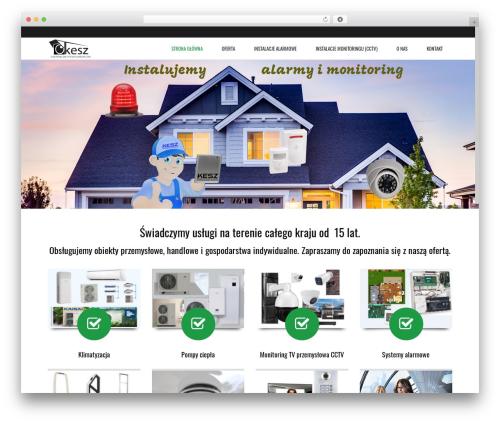 Subway WordPress theme design - kesz.com.pl