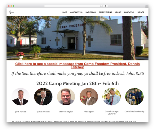 Sydney WordPress template free download - campfreedom.org