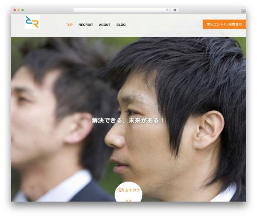 AGENT WordPress template - bow.cloud