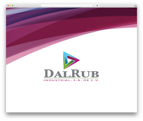 Best WordPress template Divi - dalrubindustrial.com