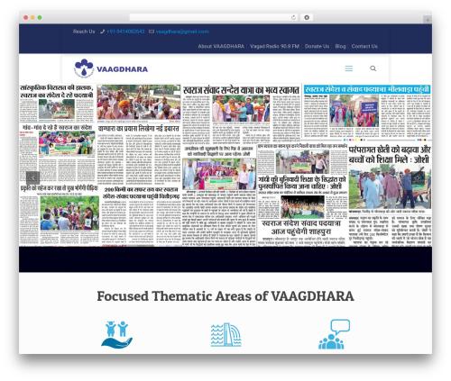 Best WordPress theme Betheme - vaagdhara.org