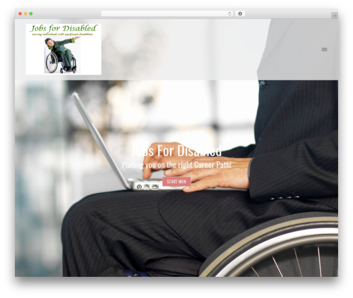 Brand WordPress template free download - jobs-for-disabled.org